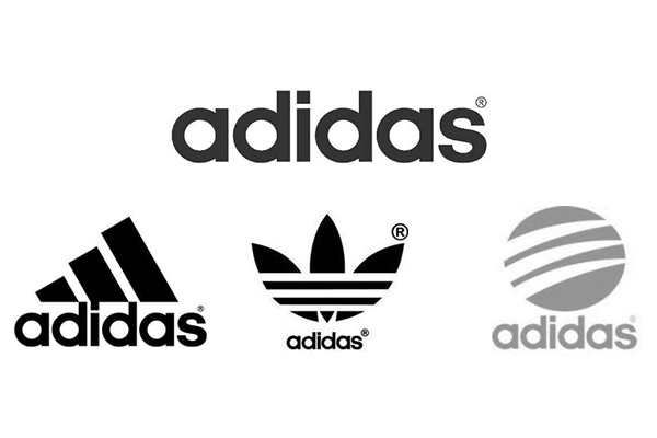 adidasのロゴは4つある?