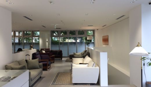 ソファ専門メーカー「TRES」が青山にショールームをオープンしました Vol.1