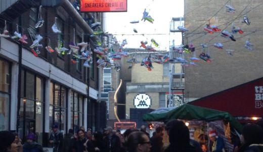 ロンドンと言えばフリーマーケット!