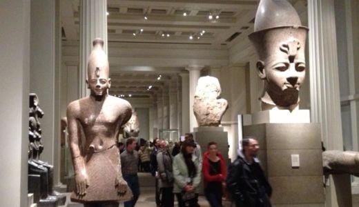 悪名高き大英博物館へ