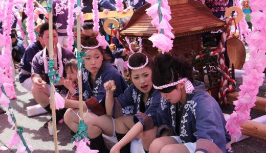 素晴らしいお祭り文化が残ってる田舎は不良が居ないのかも?