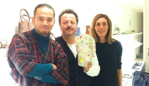 「Rocco P.」というイタリアのデザイナーズシューズブランド社長、Eusebio Pistonesi氏