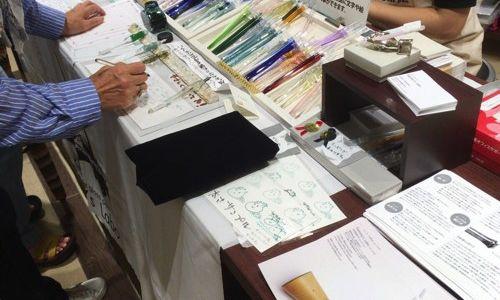 【9/12~18限定!】手作りガラスペンのkemmy's laboさんが名古屋に来てくれました!