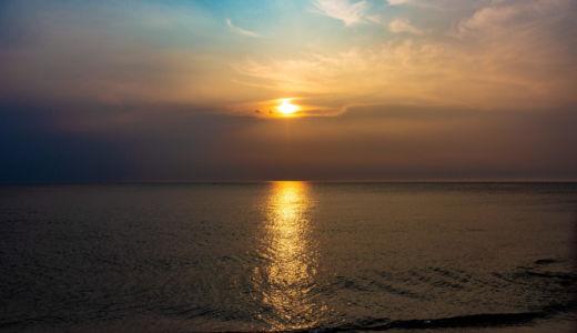 沈む夕日が美しい。目の前に海と空が広がる淡路島の絶景レストラン〜ガーブ コスタ オレンジ