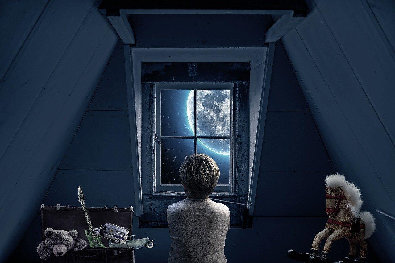 3分間の物語vol.530「君を想って月を見る」